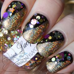 Colors by Llarowe Vincent, Enchanted Polish Flashing Lights, and Lumina Lacquer The Snow King