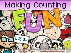 Counting BORING???? Not Anymore!!!! Make counting FUN and keep your students actively engaged while practicing the Kindergarten Common Core Math Standard of counting to 100!!!