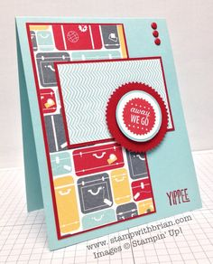 Around the World, Yippe-Skippee, Stampin' Up!, Brian King,PP193
