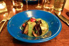 aubergine à la grecque Risotto, Blog Food, Brunch, Tacos, Mexican, Beef, Ethnic Recipes, Brussels, Eggplant