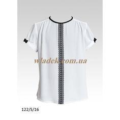 Школьная форма Sly (Польша) - Школьная блузка Sly 122 в интернет-магазине wladek.com.ua