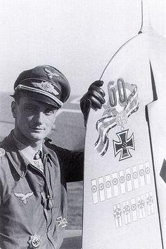 Luftwaffe ace Josef Wurmheller
