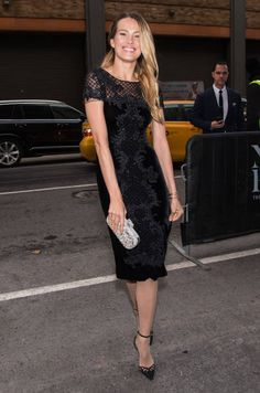 Model Petra Nemcova is seen arriving to the Marchesa fashion show during New York Fashion Week The Shows at Gallery 2 Skylight Clarkson Sq on...