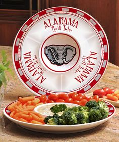 Loving this Alabama Crimson Tide Ceramic Serving Tray on #zulily! #zulilyfinds