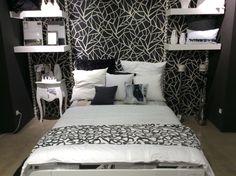 Schlafzimmer in schwarz / weiß #schlafzimmer #sleep #dream #blackandwhite