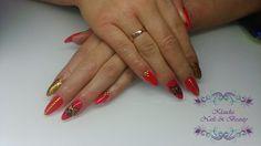 #CuteNails #sweetNails #Nails #PolishNails #KlaudiaNails&Beauty #Rednails #Partynails