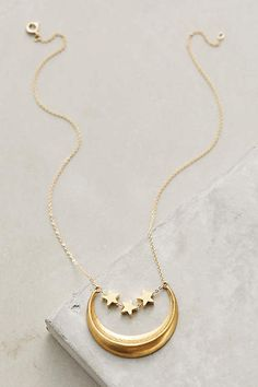 Waxing Moon Necklace - anthropologie.com