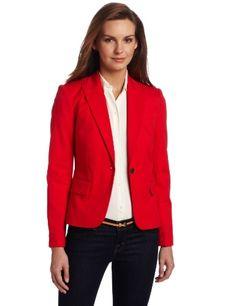 <3 red blazer