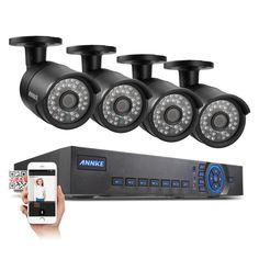 ANNKE 720P 8CH DVR AHD HD CCTV Video Home Surveillance Security Cameras System #ANNKE