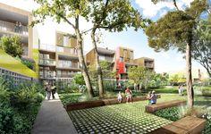 Restructuration du site de l'Hôpital Necker Enfants-Malades et construction du Pôle Mère-Enfant Laennec, Paris 15 (2003-2014) - Philippe Gazeau