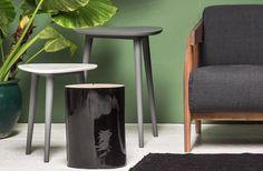 Gervasoni, project by Paola Navone: Brick 241 + Brick 242 + Brick 243 tables.