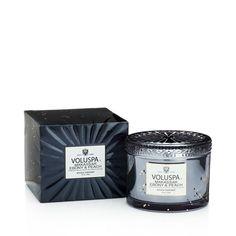 Boxed Corta Maison Glass Candle Makassar Ebony & Peach, 312 g  - Doftljus & rumsdofter- Köp online på åhlens.se!