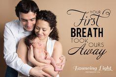 studio newborn session, baby with parents, mocha backdrop, word art, custom photography  bouncinglightphoto.com