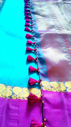 Creative confessions: Beaded saree tassel design - 2