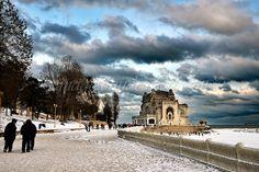 Faleza Cazinoului in Constanța, Constanța Abandoned Places, Louvre, Adventure, Building, Summer, Travel, Map, Photos, Winter
