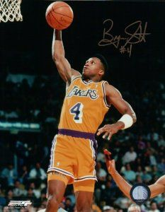 Byron Scott Lakers One Handed Dunk
