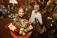 Fair trade products like coffee, tea, chocolate, crafts, furniture and many others are available for purchase in Manitoba. Photo by Mike Aporius, Winnipeg Free Press.