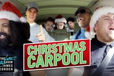 Justin Bieber, One Direction and More Star in James Corden's 'Christmas Carpool Karaoke'