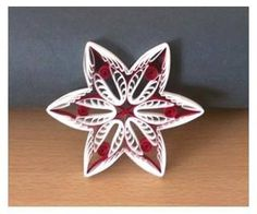 Quilled ornament tutorial Paper craft Quilling tutorial and