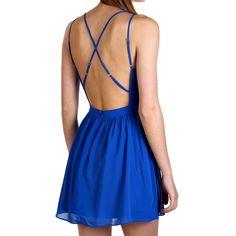 Hanni Dress Cobalt
