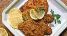 Christina's breaded pork schnitzel recipe is a simple way to turn regular pork chops into something really special that the family will love. Schnitzel Recipes, Pork Schnitzel, Breaded Pork Chops, Greek Recipes, Pork Recipes, Chicken Recipes, Cooking Recipes, German Recipes, Shrimp Recipes