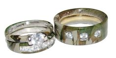camouflage wedding rings | camo wedding rings for wedding could be quit awesome idea camo wedding ...