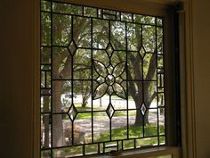 Home Improvement Ideas - Leaded Glass Windows Transoms Kitchen Bath and More