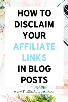 Are you using affiliate links on your blog or social media, and you want to make sure that you're complying with the FTC regulations and adding your affiliate marketing disclaimers in the right places? This post will show you how to properly disclose your affiliate links, and if you don't know how to phrase yours, you can also download my examples and my free affiliate disclaimers templates below.