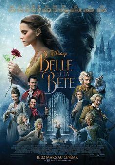 Affiche du film live #LaBelleEtLaBête Disney avec #EmmaWatson #Cinéma