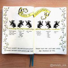 Part 65 Spellbinding Harry Potter spreads! Bullet Journal September, Bullet Journal Notebook, Bullet Journal Junkies, Bullet Journal Spread, Journal Diary, Bullet Journal Ideas Pages, Bullet Journal Inspiration, Bullet Journals, Harry Potter Journal