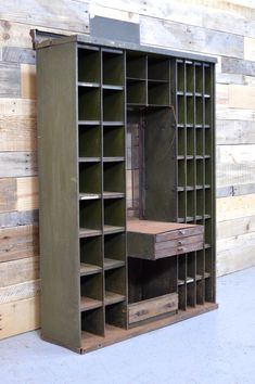 Antique Post Office Sorting Cabinet Post Office by ScoutandForge