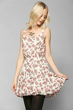 Lucca Couture Chiffon Daisy Dress