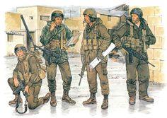 • Paratrooper Radioman  • Paratrooper NCO  • Paratrooper 1st Lieutenant  • Paratrooper Rifleman  Ronald Volstad