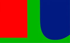 Ellsworth Kelly Red Blue Green, 1963 by Ellsworth Kelly on Curiator, the world's biggest collaborative art collection. Ellsworth Kelly, Post Painterly Abstraction, Hard Edge Painting, Colour Field, Digital Museum, Collaborative Art, Red Blue Green, Museum Of Contemporary Art, Green Backgrounds