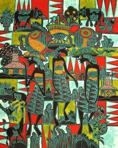 www.indonesian-batik.com Classic Style, Wall Decor, Tapestry, Frame, Handmade, Painting, Ebay, Beautiful, Art