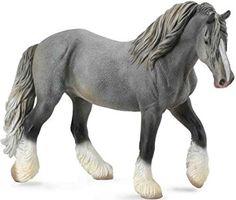CollectA Shire Horse Stute grau