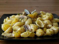 Butternut Squash, Mushroom and Sage Pasta