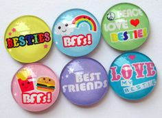 Best Friends Magnets by Stuck Together Magnets, $10.50