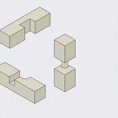 三方組仕口 Sampo-gumi-shikuchi