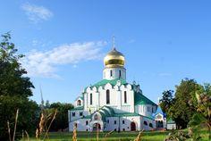 Cathédrale Feodorovsky - Pouchkine - Elle a été construite entre 1909 et 1912 à la demande de l' empereur Nicolas II, par l'Architecte Vladimir Pokrovsky.