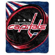 c070bc552 NHL Washington Capitals Sherpa Throw Blanket - 50