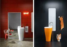 moderne Badezimmer Einrichtung Idee Badmöbel