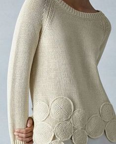 Slim Fit Jeans für Damen Famous Last Words White Shirts Women, Blouses For Women, Crochet Cardigan, Crochet Lace, Pull Gris, Knit Fashion, Mode Outfits, Crochet Clothes, Pulls