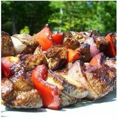 Great Shish Kabob Recipe.They also taste great in a pita wrap with sometzatziki and cucumber!