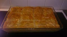A sweet Greek dessert, Galaktoboureko. It's gone in minutes! #kenwoodchefsense
