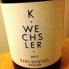 WEINGUT WECHSLER WESTHOFEN 2013 Kirchspiel Riesling #Wein aus Rheinhessen  Feine, tänzelnde Frucht, Präzision und Eleganz in einem typischen Rheinhessen- Riesling mit salziger Länge!