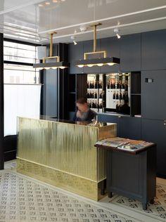 WINE & DINE bar Hotel Reception, Reception Counter, Reception Desks, Reception Areas, Lobby Lounge, Hotel Lobby, Cosy Room, Boutique Deco, Loft