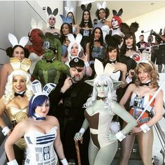 The Hottest Admiral Ackbunny Cosplay From Star Wars Celebration