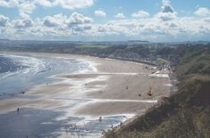 Filey bay, North Yorkshire Coast , England