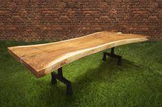 #Massivholztisch #Esstisch aus dem #Hirnholz der #Akazie in #Freiform. Spare jetzt 10% mit dem #Rabattcode PIN10 beim #Onlinekauf. #tisch #hirnholztisch #edel, #modern, #außergewöhnlich, #Unikat. Entdecke hier #interior aus #Thailand zum #online #kaufen. Picnic Table, A Table, Solid Wood Table, White Stone, Ping Pong Table, Outdoor Furniture, Outdoor Decor, Modern, Living Room